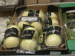 Lidl is selling peeled onions wrapped in plastic