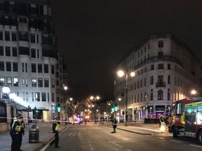 Charing Cross station is closed due to a gas leak