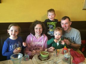 Siobhan Donohue lives in Ireland with her husband and three children
