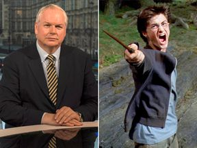 Adam Boulton and Harry Potter