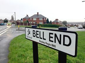 Bells Road was put forward as a suggestion to replace Bell End