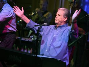 """at Roadside Attraction's """"Love and Mercy"""" DVD release and music celebration with Brian Wilson at the Vibrato Jazz Club on October 12, 2015 in Los Angeles, California."""
