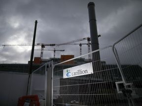 Carillion was building the new Midland Metropolitan Hospital in Smethwick at the time the company went bust