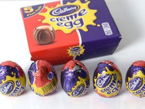 Creme Eggs are being ripped open to find the special white chocolate treats