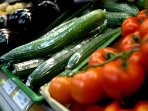 Theresa May has called for supermarkets to stop wrapping vegetables in plastic