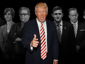 Trump's team looks a little different a year after his inauguration
