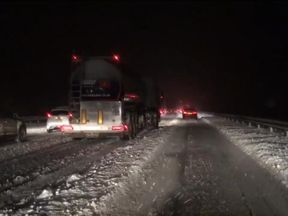 Some roads in Scotland have become impassable