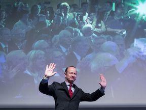 Newly elected UKIP leader Henry Bolton