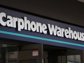 File pic of Carphone Warehouse logo