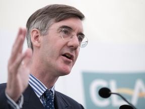 Jacob Rees-Mogg says he doesn't want to stay in the EU by the back door