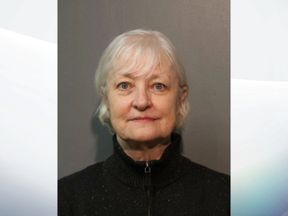 So-called serial stowaway Marilyn Hartman was arrested again by Chicago police Thursday night, after boarding a British Airways plane to London. Pic: Chicago Police