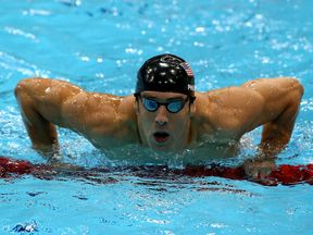 Michael Phelps at 2012 Olympics
