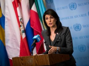 Nikki Haley called for an emergency UN meeting on the Iran situation