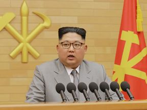 Kim Jong Un vowed North Korea would mass-produce nuclear warheads in his New Year's message