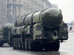 A Topol-M missile launcher