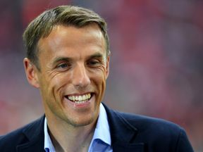 Phil Neville has been appointed head coach of the England women's football team