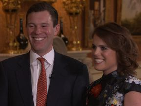Princess Eugenie Jack Brooksbank talk about their engagement