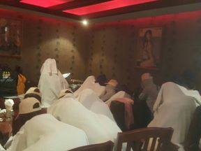 Eighty women were found n a Bangkok massage parlour after a tip-off. Pic: Department of Special Investigation