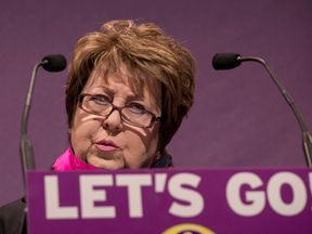 Margot Parker at the 2017 UKIP spring conference