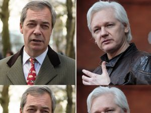 Nigel Farage 'slipped Julian Assange a data stick in secret', says investigator