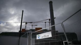 Carillion liquidation to cost taxpayers £148m