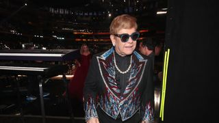 NEW YORK, NY - JANUARY 28: Recording artist Elton John attends the 60th Annual GRAMMY Awards at Madison Square Garden on January 28, 2018 in New York City. (Photo by Christopher Polk/Getty Images for NARAS)