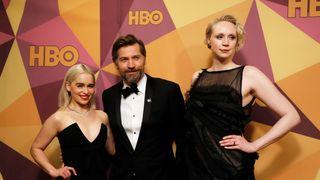 Emilia Clarke, Nikolaj Coster-Waldau and Gwendoline Christie