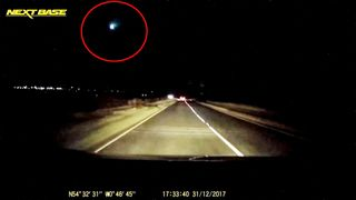 The meteor was filmed in East Anglia. Pic: NEXT BASE/David Cooper