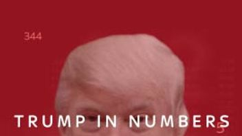 Trump's firsy year in Numbers