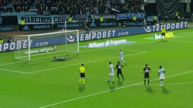 Navas saves Aspas' weak penalty