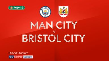 Man City 2-1 Bristol City