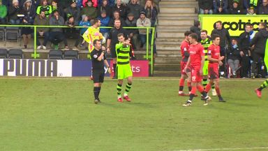 Father and son sent off in League Two