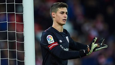 Madrid target Kepa signs new deal