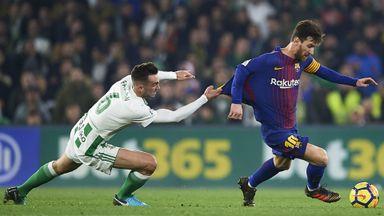 Real Betis 0-5 Barcelona