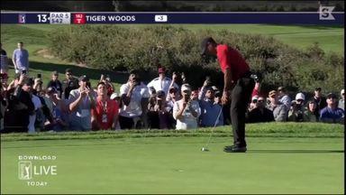 Fan yells at Woods