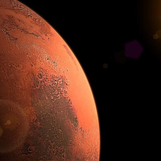 Red planet's methane 'burp' could mean life on Mars