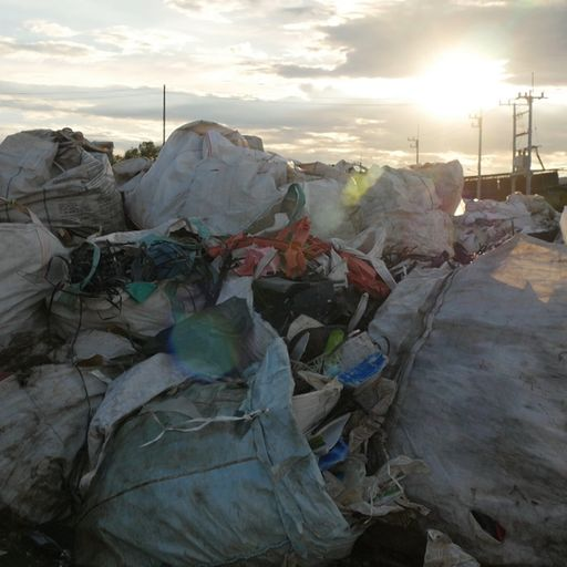 Thousands of tons of UK plastic dumped across world