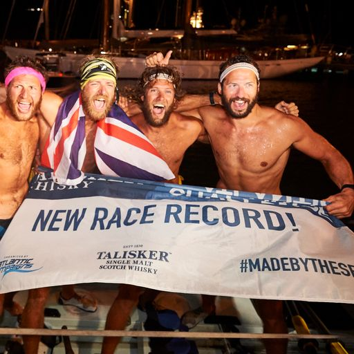 Naked rowing, hallucinations and whales - what it's like to row across the Atlantic