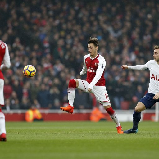 Watch Spurs v Arsenal in-game clips