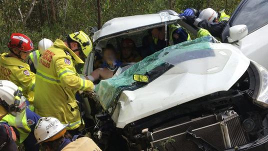 AUSTRALIA NEW SOUTH WALES HELICOPTER RESCUE