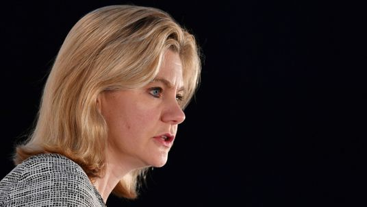 Theresa May was 'disappointed' by Justine Greening's departure