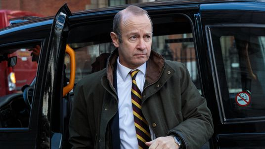 UK Independence Party leader Henry Bolton arrives at Millbank Studios on December 8, 2017 in London, England. British Prime Minister Theresa May has struck a deal with the European Union during early morning talks in Brussels today before Brexit talks move on to the next phase