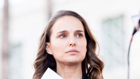LOS ANGELES, CA - JANUARY 20: Actress Natalie Portman attends the women's march Los Angeles on January 20, 2018 in Los Angeles, California. (Photo by Emma McIntyre/Getty Images)