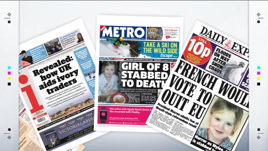Monday's newspaper front pages with Sky News