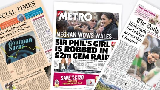 Friday's newspaper front pages with Sky News