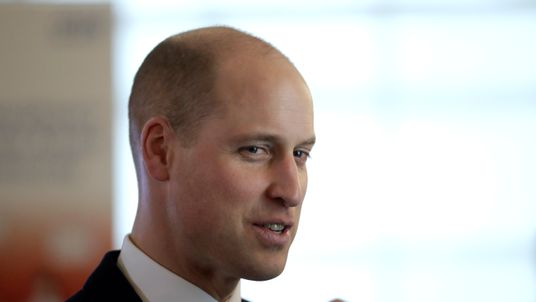 The Duke of Cambridge debuted his new hairstyle at an event in London on Thursday