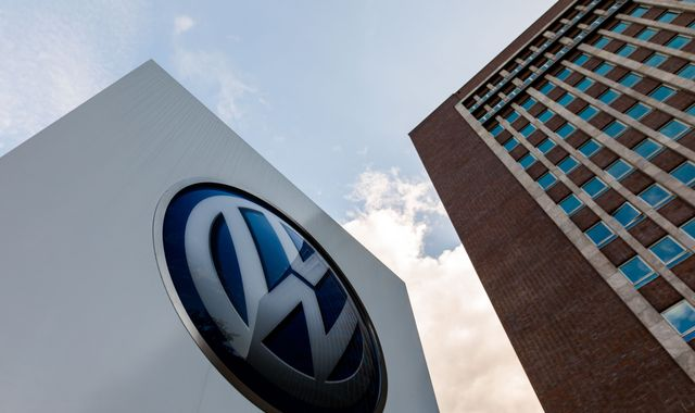 Volkswagen names new CEO