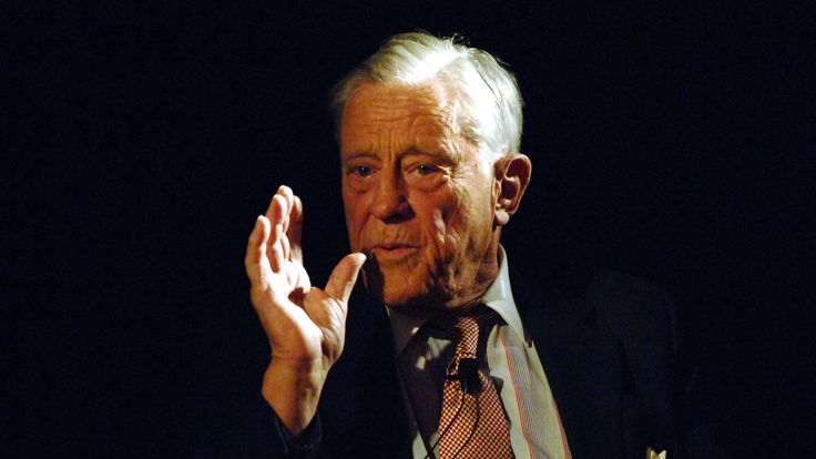 Former editor of The Washington Post, Ben Bradlee, who died in 2014