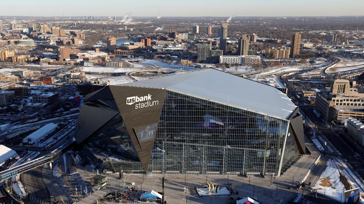 US Bank Stadium, venue of this year's Super Bowl