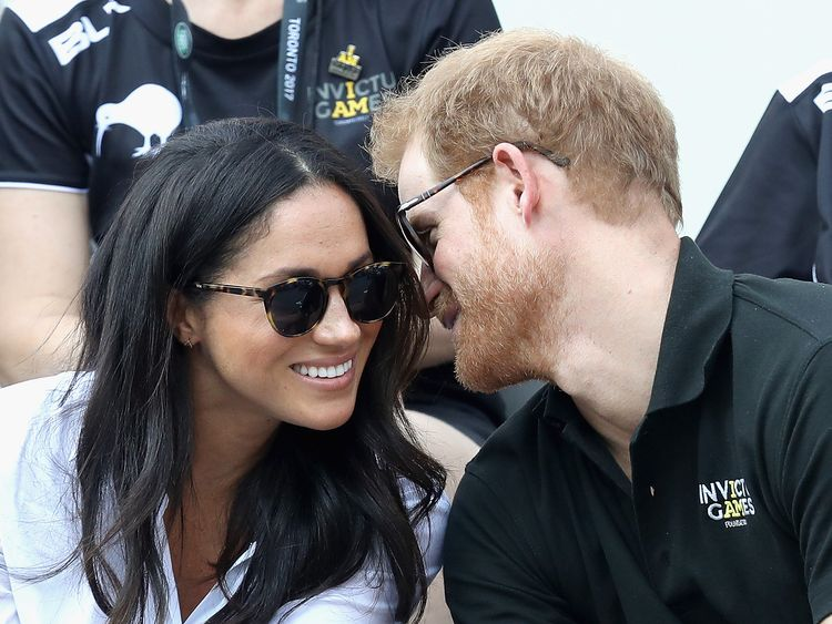 Prince Harry Meghan Markle invictus games one